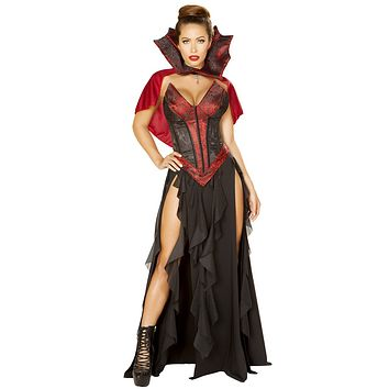 Sexy Purge Vampire Countess Corseted Outfit