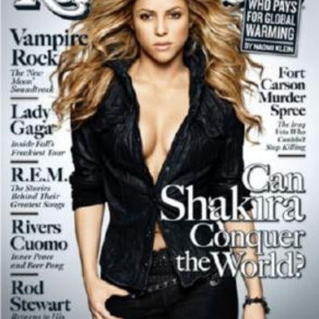 Shakira Poster Rolling Stone Cover 27inx36 in 24inx36in