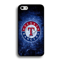 Iphone 6 Plus (5.5 Inch) Case Personalized MLB Texas Rangers Baseball Team Logo Sports Designs Hard Plastic Tpu Style Durable Protection Phone Accessories Case Cover for Men