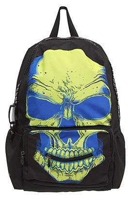 Mojo Radioactive Skull Backpack - 614935
