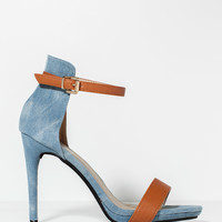 Megan-2 Denim Daze Heel