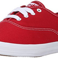 Keds Women's Champion Original Canvas Sneaker, Red,9.5 M US