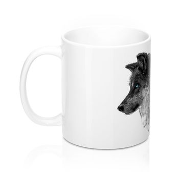 Beautiful Wolf Coffee Mug 11oz