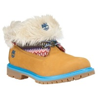 Timberland - Women's Timberland Authentics Fabric Roll-Top Boots