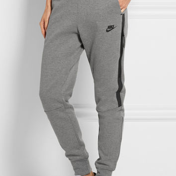 Nike | Tech Fleece cotton-blend jersey track pants | NET-A-PORTER.COM