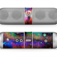 The Neon Paint Mixtured Surface Skin for the Beats by Dre Pill Bluetooth Speaker