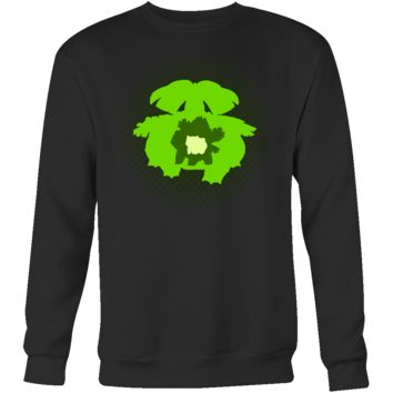 POKEMON VENUSAUR EVOLUTION Sweatshirt T Shirt - TL00473SW