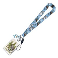 Disney Frozen Olaf the Snowman and Sven Lanyard Key Chain - Monogram - Frozen - Key Chains at Entertainment Earth