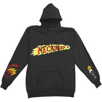 Neck Deep Men's  Shooting Eye Hooded Sweatshirt Black