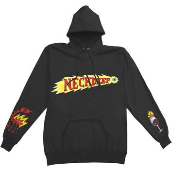 Neck Deep Men's  Shooting Eye Hooded Sweatshirt Black Rockabilia
