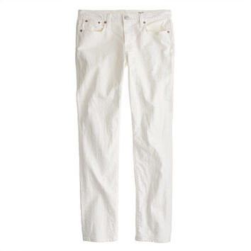 J.Crew Womens Slim Broken-In Boyfriend Jean In White