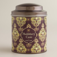 HUCKLEBERRY CASSIS INVERNESS CANDLE TIN