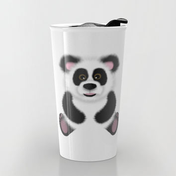 Panda Travel Mug by Alice Gosling | Society6