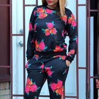 Married To The MOB Floral Crewneck Sweatshirt