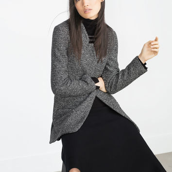 LONG BLAZER - BLAZERS-WOMAN | ZARA United Kingdom