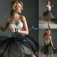 Short Mini Cocktail Dress Party Dresses Evening Formal Bridesmaid Prom Dresses