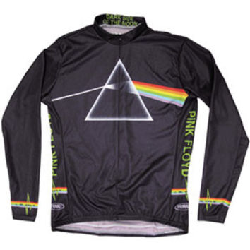 Pink Floyd Men's  Dark Side Cycling  Jersey Black