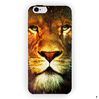 Lion King Nebula Design Art Custom For iPhone 6 / 6 Plus Case