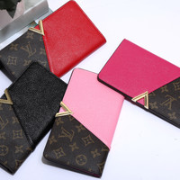 shosouvenir: LV Women Leather Multicolor Wallet Purse