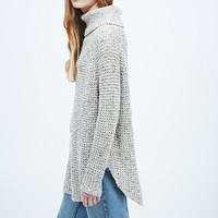 Free People Dylan Tweedy Jumper in Ivory - Urban Outfitters