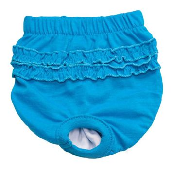 Pet Clothes 2017 Cute Pet Dog Panty Brief Bitch In Season Sanitary Pants For Girl Female Pet Acessorios 17AUG23