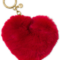 MICHAEL Michael Kors Heart Pom Pom Fob - Handbags & Accessories - Macy's