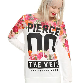 Pierce The Veil The Divine Zero Girls Pullover Top