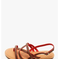 Tan Helen of Troy Sandals | $10.00 | Cheap Trendy Sandals Chic Discount Fashion for Women | ModDea