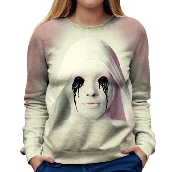 American Horror Story White Nun Womens Sweatshirt