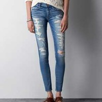 AEO Destroyed Jeans   American Eagle Outfitters