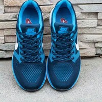 """""""Nike"""" Fashion Casual Male Female Breathable Comfortable Fly Weave Couple Sneakers Run"""