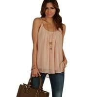 Taupe Easy Going Tank Top