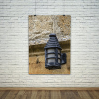 Cotswolds Wall Lamp photography print photo poster art prints architecture england english traditional candle detail fine art print