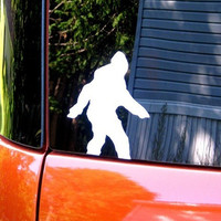 Vinyl Bigfoot  Decal / Sticker for Car, Computer or Home by DeeplyDapper - NEW - Choose your color of Sasquatch Sticker