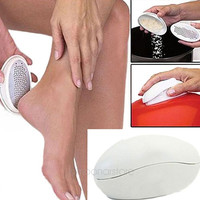 Health & Beauty Home Use Massage Care Oval Egg Shape Pedicure Foot File Ped Egg Callus Cuticle Remover Foot Care = 1946283844