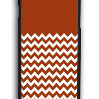 Chevron Brown for Iphone 6 Hard Cover Plastic