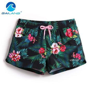 Gailang Brand Women Shorts Casual Quick Drying Swimwear Swimsuits Woman Board Shorts Big Size XL Boardshorts Sunga Bermuda