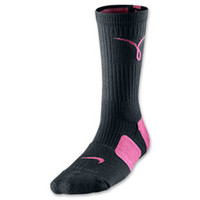 Women's Nike Kay Yow Elite Cushioned Basketball Socks - Medium