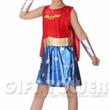little girls brave superman Costumes Birthday gifts for kids girls Retail = 1946223876