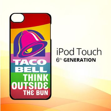taco bell logo Z3337 iPod Touch 6 Case