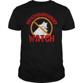 Neighborhood watch awesome keep criminals out of our Neighborhood Unisex t-shirt