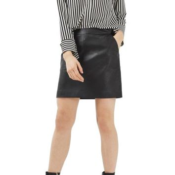Topshop Faux Leather Pencil Skirt | Nordstrom