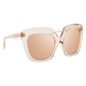 Linda Farrow 556 C5 Aviator Sunglasses