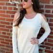 The Cold Shoulder {Cream}