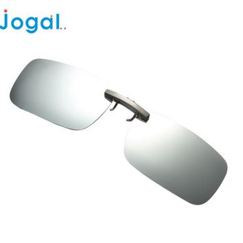 2017JOGAL lunettes gafas fashion Detachable Night Vision Lens Driving Metal Polarized Clip On Glasses Sunglasses oculos 17May 11