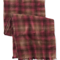 Women's Bean's Blanket Scarf, Plaid | Free Shipping at L.L.Bean