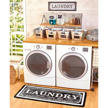 Laundry Room Wall Sign Home Decor Gift Set, Sorting,Lost Socks,Laundry Dispenser