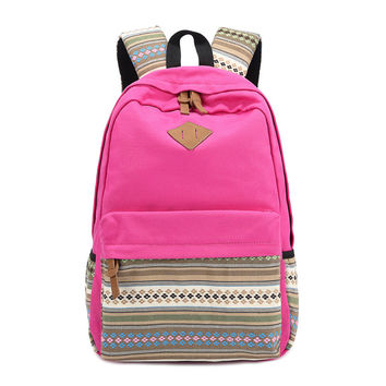 Hot Vintage Canvas Backpacks Women School Bags For Teenager Girls School Bookbags Cute Laptop Backpack For Girls Rucksack Female