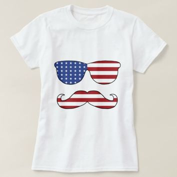 Patriotic Funny Face T-Shirt