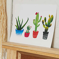 Perspectives in Print Cactus Print , Multi